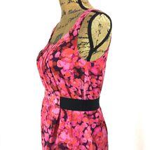 SET Ann Taylor LOFT Dress J.Crew Clare Cardigan Sweater Pink Purple Black 2 S LN image 5
