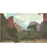 The Temple of Sinawava, Zion National Park, Utah, unused Postcard  - $4.99