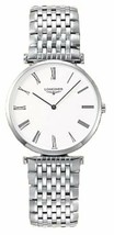 Longines Men's L47094116 La Grande Classique Analog Quartz Stainless Steel Watch - $1,016.50