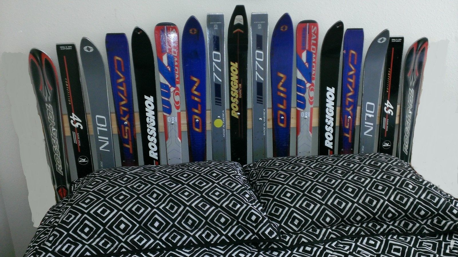 Recycled Ski Headboard Made In The Usa Headboards