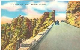 Trail Ridge Road, Above Timberline, Colorado, 1930s unused Postcard  - $3.99