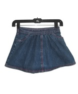 Girls Denim Skirt Size 7 FADED GLORY Blue Elast... - $2.49