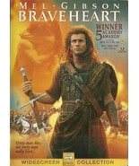 Braveheart DVD Mel Gibson Sophie Marceau Patric... - $2.99
