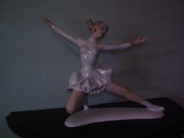 Figure Skater - VEB Wallendorf fine porcelain figurine - $175.00
