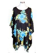 Sarong Poncho Beach Luau Tropical Cruise Dress ... - $17.50