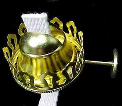 No 1 Gem Arctic Solid Brass Lamp Burner 7/8 in Thread 1 5/8 in Chimney G... - $16.95