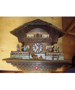 Cuckoo Clock, Swiss, CUENDET, musical - $3,000.00
