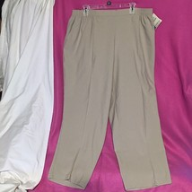 NWT Koret Impressions Flatter Fit Slacks Pants Ladies Women Plus 22W Gra... - $21.77