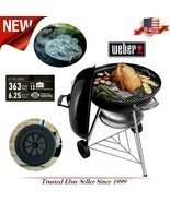 NEW Large BBQ Charcoal Weber Grill Outdoor Portable Kettle  Premium 22 J... - $97.15