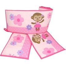 Carter's Child of Mine Ballerina Monkey Crib Bumper - $49.49