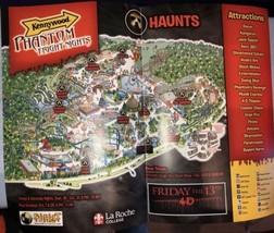 Kennywood Park Phantom Fright Nights Halloween Haunt 2018 Brochure guide... - $4.23