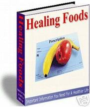 HEALING FOOD/vitamins/healthy lifestyle/e-book on cd - $1.50