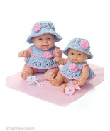 """Lots to Love Babies: baby DOLL CLOTHES TO KNIT for 8"""" 10"""" dolls - see pics - $5.93"""