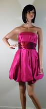 Nwt Betsey Johnson Fuchsia Sequin Bubble Hem Dress Sz 2 New (Make An Offer) - $177.31