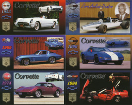 1996 Corvette Wide Screen Trading Cards by Heritage Collections - $20.00