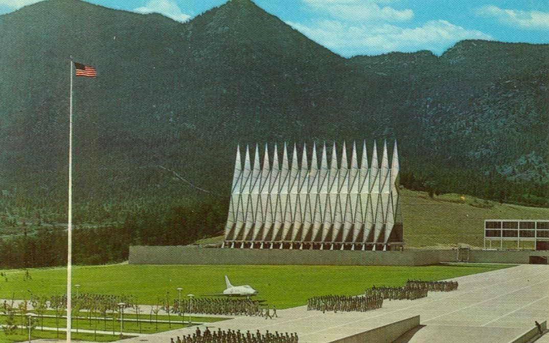 US Air Force Academy, near Colorado Springs, Colorado, unused Postcard