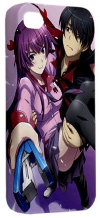 Hot Hitagi Araragi Bakemonogatari Manga Anime iPhone 4 4S Hardshell Case Cover
