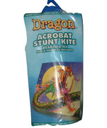 New FLIGHT ZONE Dragon Acrobat Stunt Kite Dual Control - $10.20