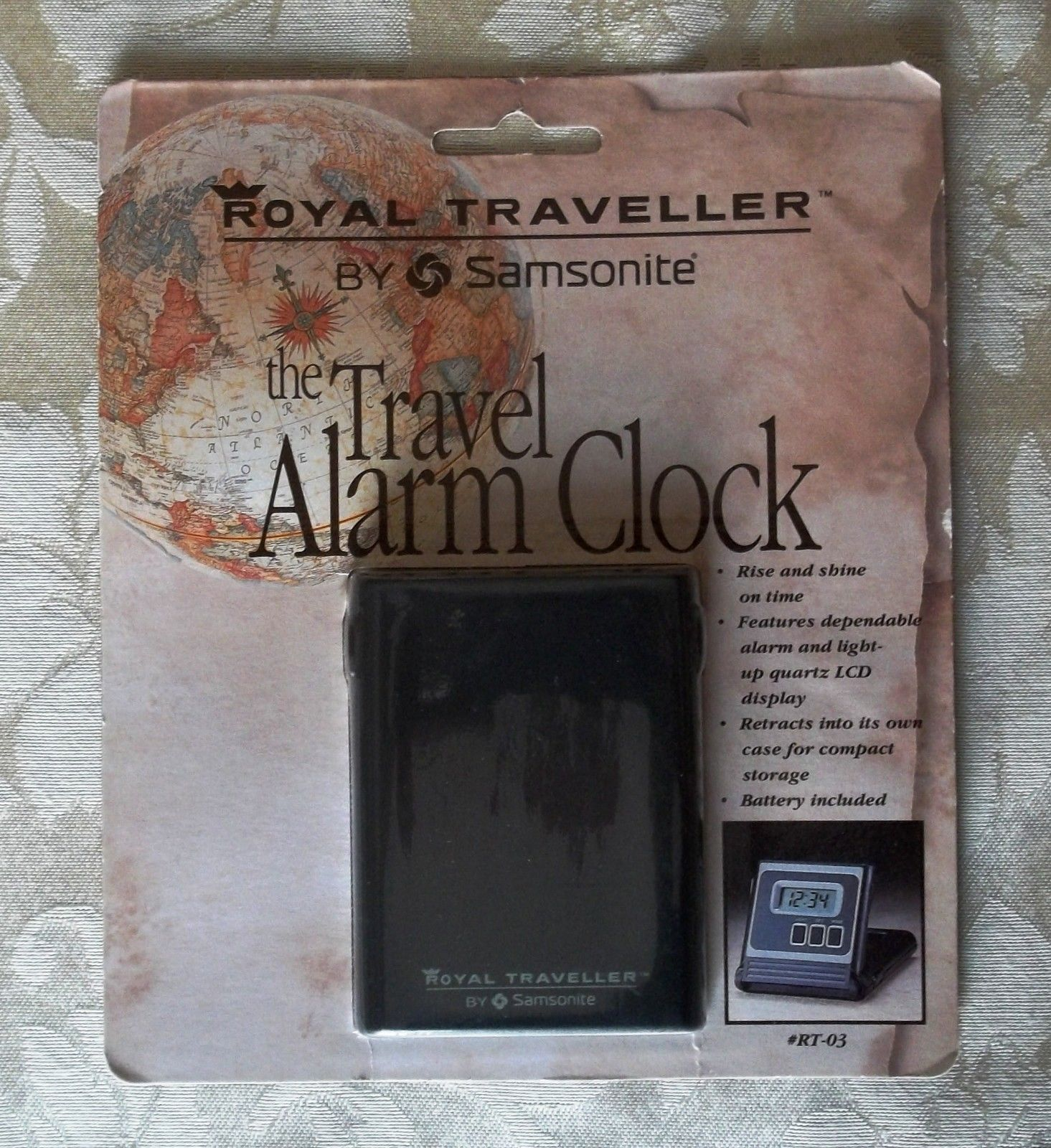 Samsonite travel clock  1
