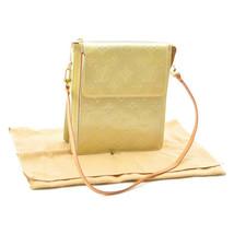 LOUIS VUITTON Vernis Mott Shoulder Bag Gris M91030 LV Auth 8647 - $210.00
