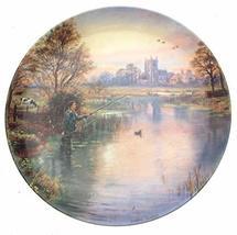 Danbury Mint Water Meadows Gone Fishing plate Graham Twyford - CP1681 - $36.95