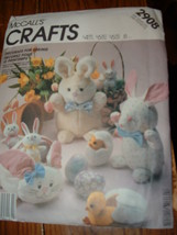 McCALL'S CRFATS #2908 / EASTER PACKAGE CRAFTS - $8.99