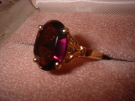 Pam amethyst oval ring thumb200