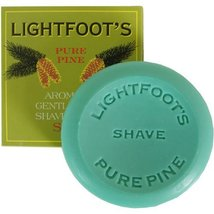Lightfoot's Classic Pine British London Creme Shave Shaving Soap Men image 5