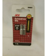"ACE Screwdriver Bits 3/16""  2058824 Dual Pack - $6.88"