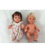 "2 Dolls Vintage 1969 UD Co Vinyl Plastic Blonde Hair Girl  Character 5""... - $8.51"