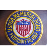 USFSA Memorial Fund Embroidered Patch - $10.00