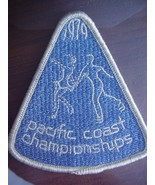 USFSA Pacific Coast Sectionals - 1979 embroidered patch - $10.00