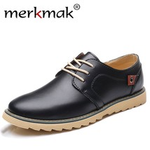 Merkmak Men Designer Men Luxury Comfortable for Shoes Brand Shoes Casual Leather SAZrxS4
