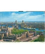 United Kingdom, Tower of London and Tower Bridge, London,  1966 used Pos... - $4.35