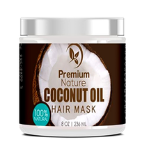Leave In Conditioner Coconut Oil Hair Mask Conditioner Deep conditioning... - $11.80