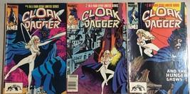 CLOAK & DAGGER run of (3) issues #1 #2 #3 (1983) Marvel Comics VG+ - $12.86