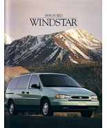1995 Ford WINDSTAR sales brochure catalog 2nd Edition 95 US GL LX - $6.00