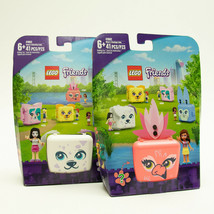 LEGO Friends Emmas Dalmation & Olivias Flemingo Cube 41662 Building Kit ... - $16.65