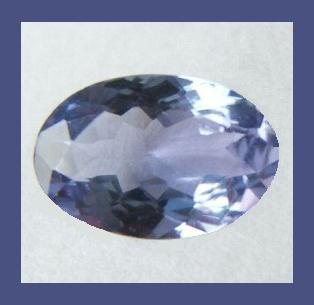 Tanzanite oval 0.45ct