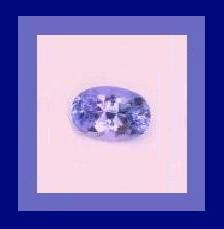 Genuine Light Purple 0.47ct TANZANITE Oval Natural Gemstone