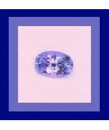 Genuine Light Purple 0.47ct TANZANITE Oval Natural Gemstone - $89.99