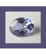 Genuine Blue Purple 0.63ct TANZANITE Oval Natural Gemstone - $149.99