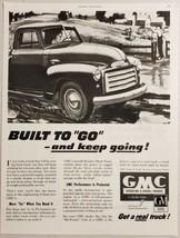 1951 Print Ad GMC Gasoline & Diesel Trucks in Farm Country General Motors - $16.81