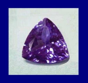 Tanzanite trillion 0.60ct
