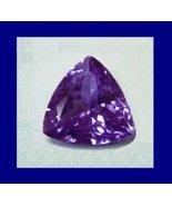Genuine 0.60ct Dark Blue TANZANITE Trillion Natural Gemstone - $179.99
