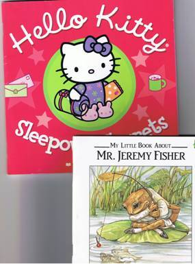 Hello Kitty, Mr. Jeremy Fisher, & 4 more Children's Books