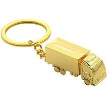 Creative Durable Portable Keychain Key Holder Pendant Key Ring Golden - $12.71
