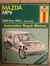 Mazda MPV Haynes Repair Manual 61020 1989 Thru 1994 All Models Teardown Rebuild - $4.94