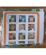Scheepjes Cross Stitch Kit 3500 Pillow Cushion Cover Green 16 x 16 in 40... - $19.94