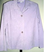 Ladies Pant Suit by Briggs lavender, purple siz... - $28.00